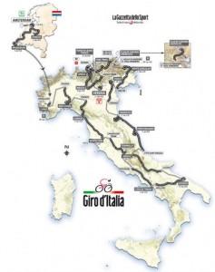 traseu turul italiei 2010