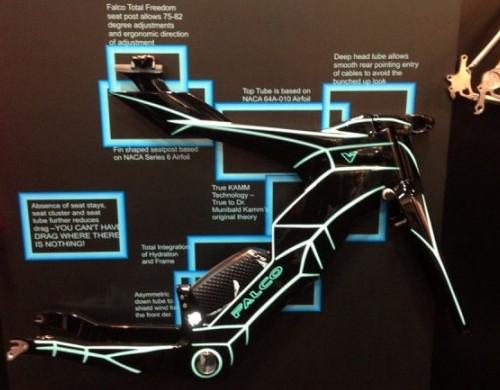 Bicicleta de triatlon Falco V sfidează toate regulile 2