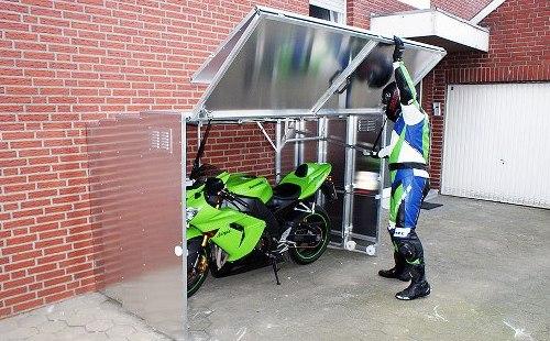 Garaj pliabil pentru biciclete şi scule 4