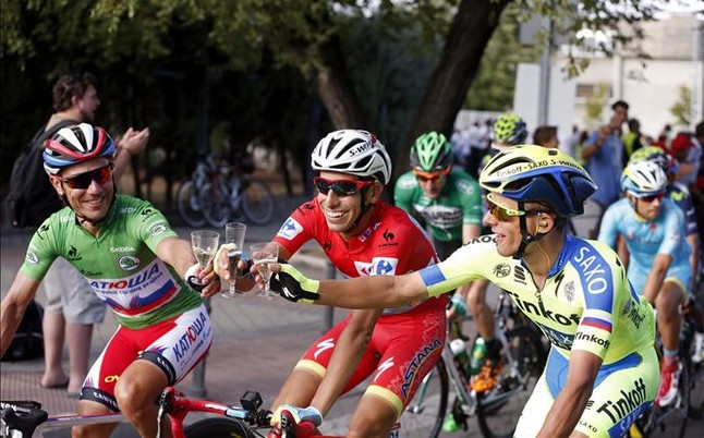 Fabio Aru Vuelta 2015