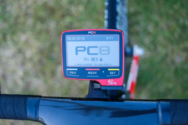bicicleta lui Cancellara - Power Meter