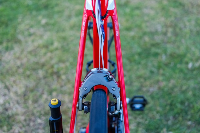 bicicleta lui Cancellara - frana spate