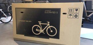 Vanmoof transport biciclete