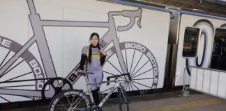 tren in japonia pentru ciclisti